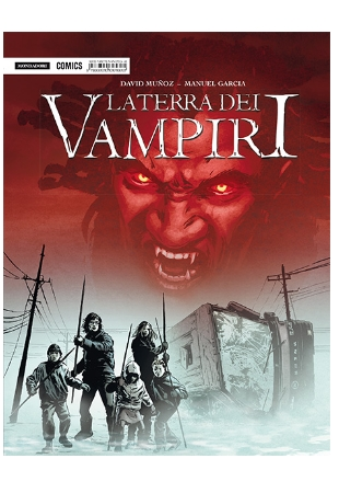 la terra dei vampiri copertina